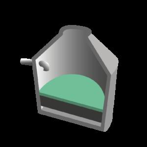 Vorfiltermatte Öko-tex