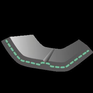 Filterfeckeneinlage Öko-tex